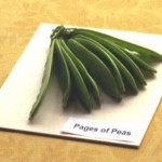 'Pages of Peas' by Helen McPherson